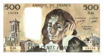 Francia 500 Francs Pascal - 1978-10-5 - D.96