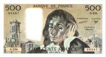 Francia 500 Francs Pascal - 1987 - O.256