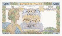 Francia 500 Francs Pax with wreath - 1941