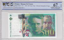 Francia 500 Francs Pierre et Marie Curie - 1994 - PCGS 67OPQ