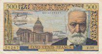 Francia 500 Francs Victor Hugo - 04-03-1954 Serial Y.30