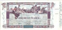 Francia 5000 Francs Flameng - 1918