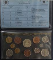 Francia FDC.1983 Monnaie de Paris Uncirculated set 1983