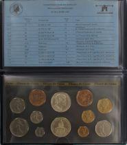 Francia FDC.1984 Monnaie de Paris Uncirculated set 1984