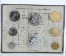 Francia Monnaie de Paris - Uncirculated set 1970