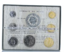 Francia Monnaie de Paris - Uncirculated set 1973