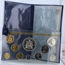 Francia Monnaie de Paris Uncirculated set - 10 coins -1979