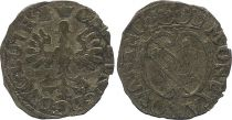 Frankreich 1/2 Gros de Nancy, Duché de Lorraine - Charles IV et Nicole (1624-1625) - 3th ex