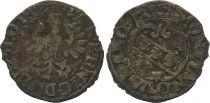 Frankreich 1/2 Gros de Nancy, Duché de Lorraine - Charles IV et Nicole (1624-1625)