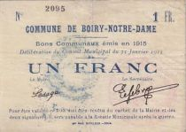 Frankreich 1 F Boiry-Notre-Dame