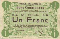 Frankreich 1 F Carvin