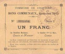 Frankreich 1 F Drocourt
