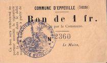 Frankreich 1 F Eppeville n° 2360