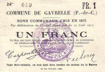 Frankreich 1 F Gavrelle