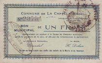 Frankreich 1 F La Capelle