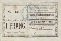 Frankreich 1 F Marchiennes-Campagne