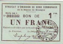 Frankreich 1 F Rimogne