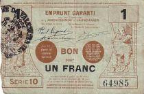 Frankreich 1 F Valenciennes