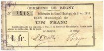 Frankreich 1 Franc Regny City - 1915