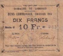 Frankreich 10 F Lambres