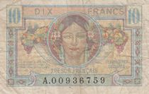 Frankreich 10 Francs , French Treasure - 1947 - Serial   A.00936759