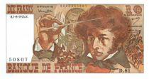 Frankreich 10 Francs Berlioz - 1974
