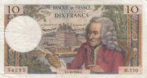Frankreich 10 Francs Voltaire - 01-10-1964 - Serial H.110