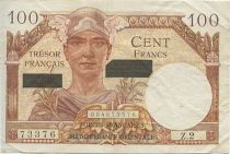 Frankreich 100 F Mercury - Suez issue