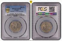 Frankreich 100 Francs Cochet - 1958  Owl - PCGS AU 58