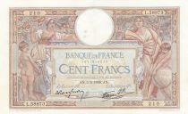 Frankreich 100 Francs Corneille - 05-05-1938 - Serial L.58873
