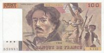 Frankreich 100 Francs Delacroix 1990 - Serial S.135