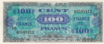Frankreich 100 Francs Impr. américaine (drapeau) - 1944 - Série 10