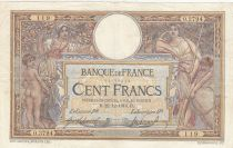 Frankreich 100 Francs Luc Olivier Merson - 1914 to 1918 - WWI