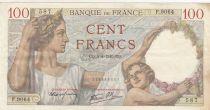 Frankreich 100 Francs Sully - 04-04-1940 - Serial  F.9064