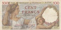 Frankreich 100 Francs Sully - 19-12-1940 - Serial Q.17710