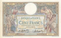 Frankreich 100 Francs Women with childs - 11-04-1924 Serial A.10542