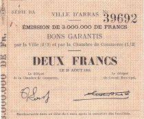 Frankreich 2 F Arras - 29/08/1914