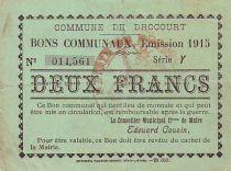 Frankreich 2 F Drocourt