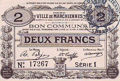 Frankreich 2 F Marchiennes