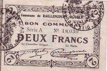 Frankreich 2 F Raillencourt-Sainte-Olle