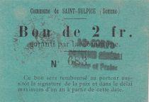 Frankreich 2 F Saint-Sulpice - N683 - 10/05/1915