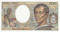 Frankreich 200 Francs Montesquieu 1982 - Serial T.010