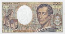Frankreich 200 Francs Montesquieu 1992 - Serial H.148