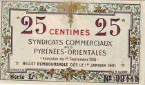 Frankreich 25 cent. Pyrénées Orientales