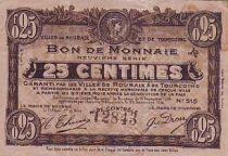 Frankreich 25 cent. Roubaix-Tourcoing
