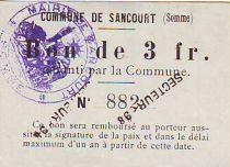 Frankreich 3 F Sancourt