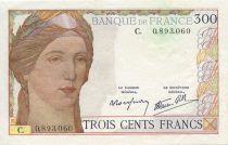 Frankreich 300 Francs Ceres and Mercury - 1938