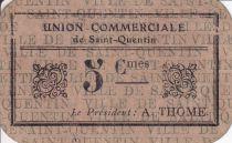 Frankreich 5 cent. Saint-Quentin Fleurette 3