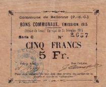 Frankreich 5 F Bellone