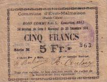 Frankreich 5 F Evin-Malmaison
